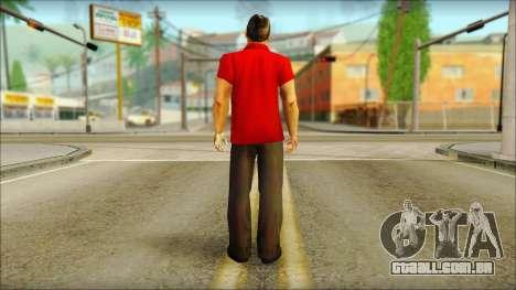 Michael from GTA 5v3 para GTA San Andreas segunda tela
