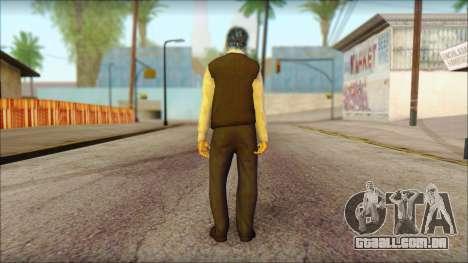 GTA 5 Ped 15 para GTA San Andreas segunda tela