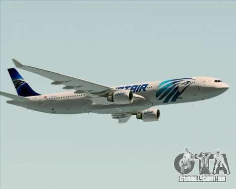 Airbus A330-300 EgyptAir para o motor de GTA San Andreas