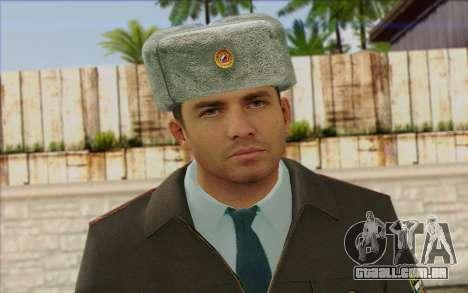 A Polícia Da Rússia Pele 3 para GTA San Andreas terceira tela