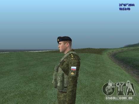 O Oficial Do Corpo De Fuzileiros Navais para GTA San Andreas quinto tela