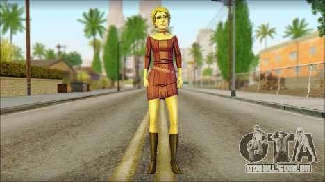 Vivian from Wolf Among Us para GTA San Andreas