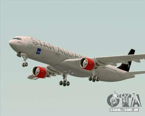 Airbus A330-300 SAS (Star Alliance Livery) para o motor de GTA San Andreas
