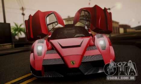 Ferrari Gemballa MIG-U1 para GTA San Andreas vista traseira