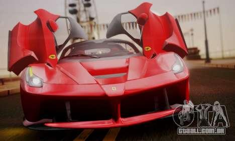 Ferrari LaFerrari F70 2014 para o motor de GTA San Andreas