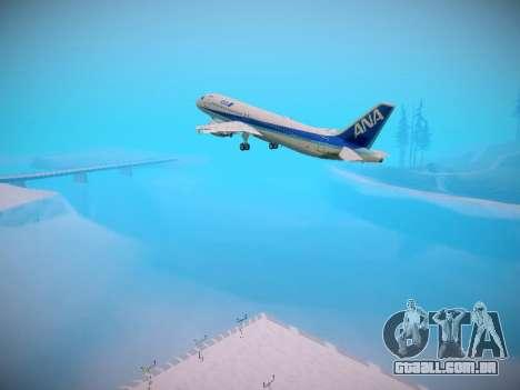 Airbus A320-211 All Nippon Airways para as rodas de GTA San Andreas