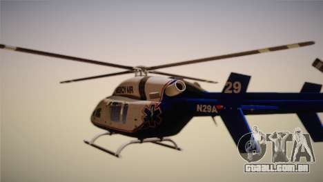 Bell 429 v3 para GTA San Andreas esquerda vista