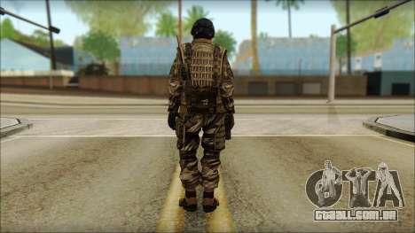 Soldados da UE (AVA) v5 para GTA San Andreas segunda tela