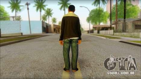 GTA 5 Ped 17 para GTA San Andreas segunda tela