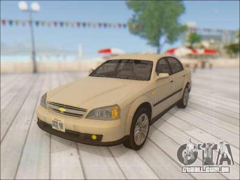Chevrolet Evanda para GTA San Andreas