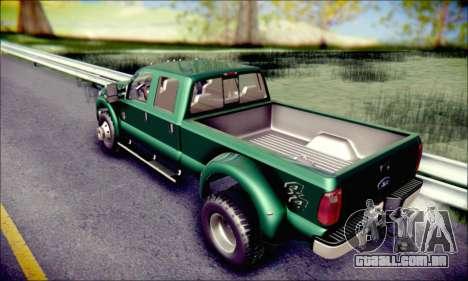 Ford F450 Super Duty 2013 HD para GTA San Andreas vista interior