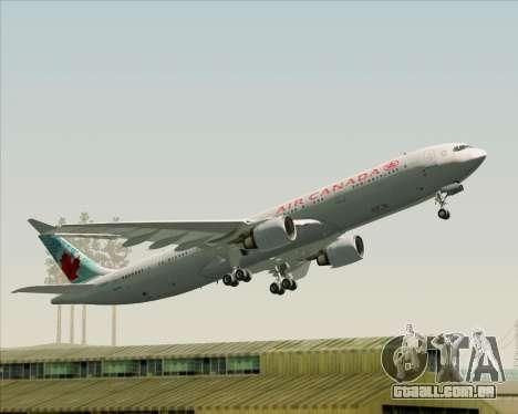 Airbus A330-300 Air Canada para o motor de GTA San Andreas
