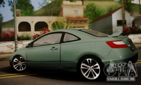 Honda Civic SI 2006 para GTA San Andreas esquerda vista