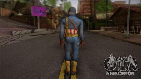 Captain America v2 para GTA San Andreas segunda tela