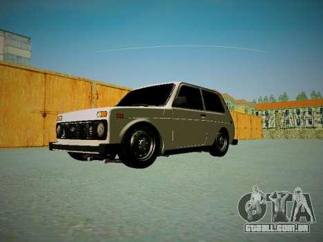VAZ 2121 para vista lateral GTA San Andreas