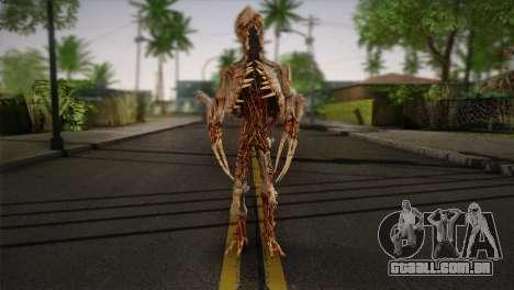 Monstro do jogo Dead Spase 3 para GTA San Andreas