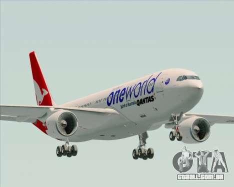 Airbus A330-200 Qantas Oneworld Livery para GTA San Andreas