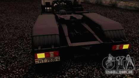 MAZ 642208 para GTA San Andreas vista traseira