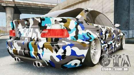 BMW M3 E46 Emre AKIN Edition para GTA 4 esquerda vista