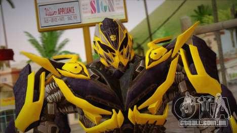 Bumblebee v1 para GTA San Andreas terceira tela