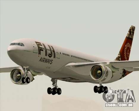 Airbus A330-200 Fiji Airways para GTA San Andreas