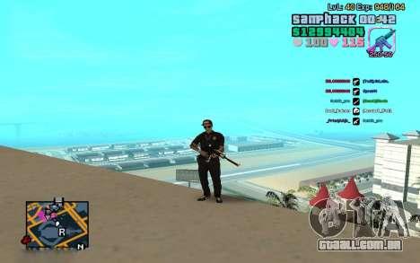 C-HUD GTA Vice City edited SampHack para GTA San Andreas segunda tela