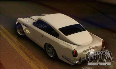 DewBauchee JB-700 1.0 (HQLM) para GTA San Andreas traseira esquerda vista