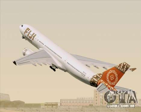 Airbus A330-200 Fiji Airways para as rodas de GTA San Andreas