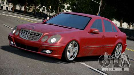 Mercedes-Benz E320 para GTA 4 esquerda vista
