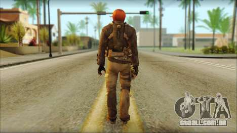 Feliciano Vargas para GTA San Andreas segunda tela