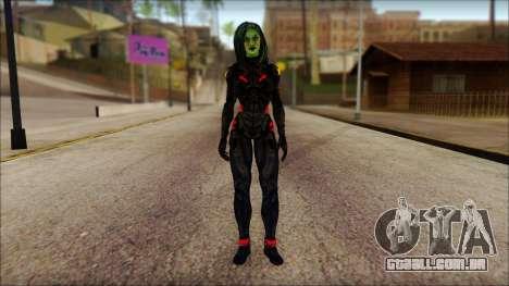 Guardians of the Galaxy Gamora v1 para GTA San Andreas