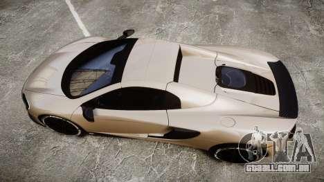 McLaren 650S Spider 2014 [EPM] Yokohama ADVAN v2 para GTA 4 vista direita