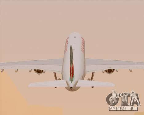 Airbus A330-300 Air Canada para as rodas de GTA San Andreas
