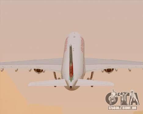 Airbus A330-300 Air Canada para as rodas de GTA San Andreas