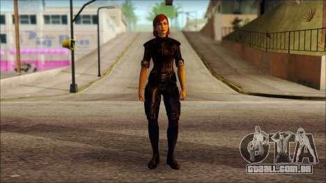 Mass Effect Anna Skin v6 para GTA San Andreas