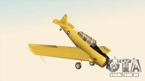 North American T-6 TEXAN para GTA San Andreas