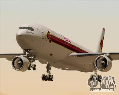 Airbus A330-300 Thai Airways International para GTA San Andreas
