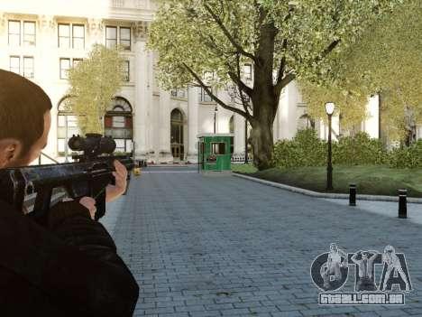 Barrett M107CQ para GTA 4 segundo screenshot
