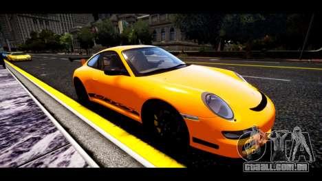 Porsche 911 GT3 RS para GTA 4 esquerda vista