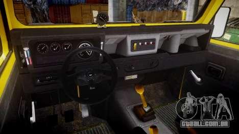 Land Rover Defender para GTA 4 vista de volta