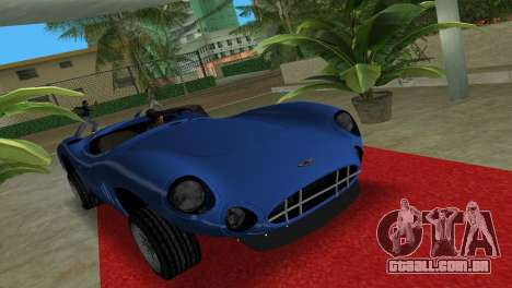 Aston Martin DBR1 para GTA Vice City vista direita