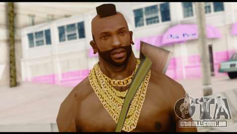 MR T Skin v5 para GTA San Andreas terceira tela