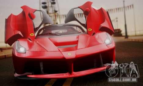 Ferrari LaFerrari F70 2014 para GTA San Andreas vista traseira