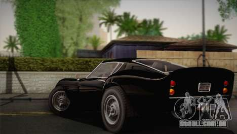 GTA 5 Stinger GT (IVF) para GTA San Andreas esquerda vista