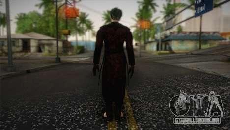 Joker From Batman: Arkham Origins para GTA San Andreas segunda tela