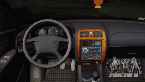 Mazda 626 para GTA San Andreas traseira esquerda vista