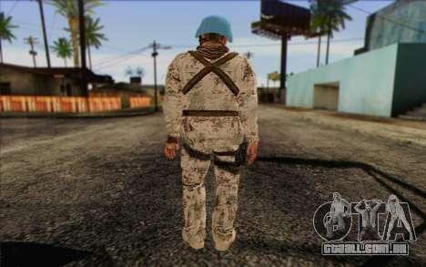 Alemão Pacificador para GTA San Andreas segunda tela
