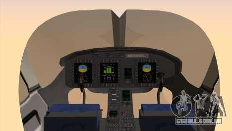 Bell 429 v3 para GTA San Andreas traseira esquerda vista