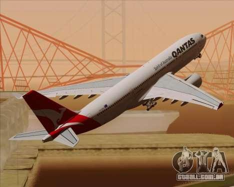 Airbus A330-200 Qantas para o motor de GTA San Andreas