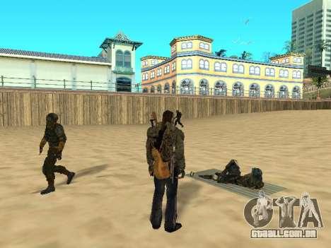 Novos tapetes na praia para GTA San Andreas segunda tela